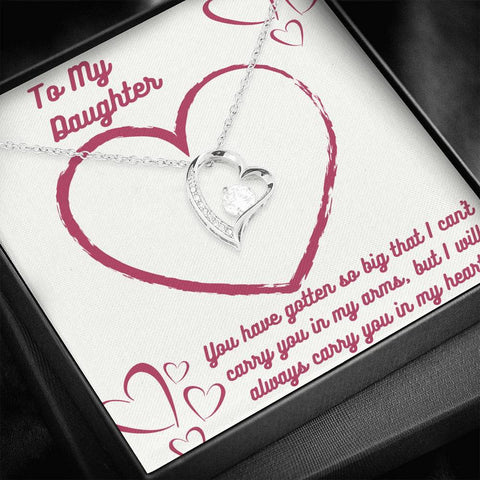 Image of Daughter, You Will Always Be In My Heart Jewelry