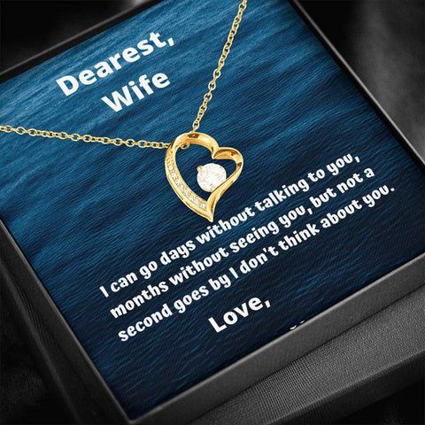 Image of Dearest Wife, Customize With Your Names