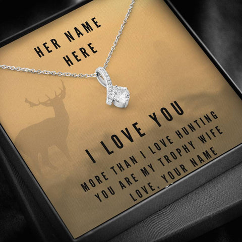 Personalized More Than Hunting, Make This Your Unique Gift Jewelry