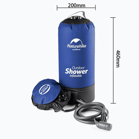 Utra-LIght Pressure Shower | Surf, Camp, Prepping, or Backpacking