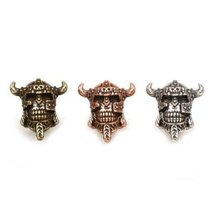 Antique Viking Skull Bead Beads