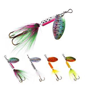 Rooster Tail Trophy Spinners Fishing Lures