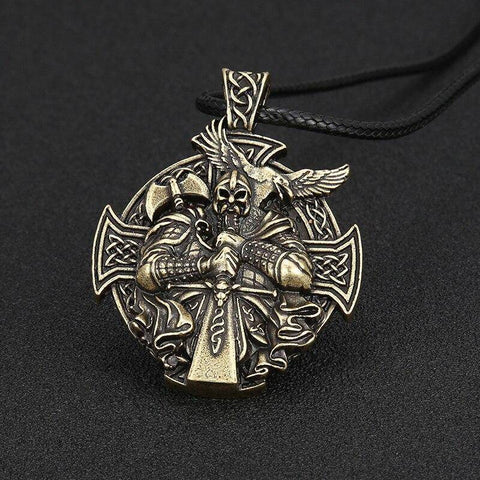 Odin Necklace, Handcrafted Necklace