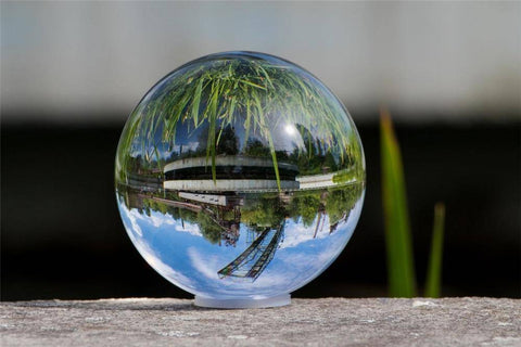 Premium K9 Crystal Lens Ball. Take Your Viewers to a New World With Your Art Photo Studio Accessories