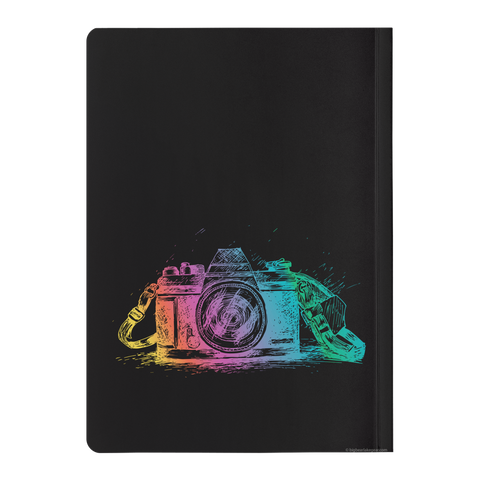Colorful Camera Soft Cover Journal