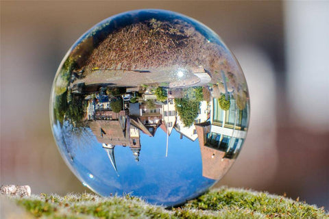Image of Premium K9 Crystal Lens Ball. Take Your Viewers to a New World With Your Art