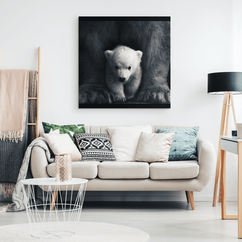 Mother and Baby Bear Custom Gallery Canvas