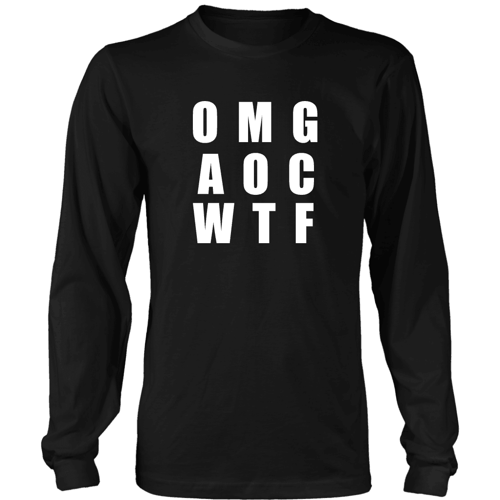 Well There you have it... T-shirt District Long Sleeve Shirt Black S