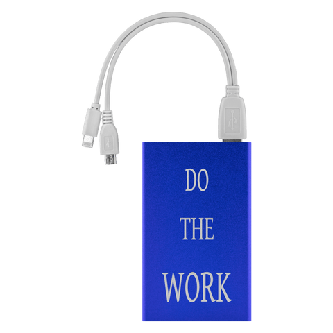 Image of Do The Work Power Bank Power Banks Royal Blue