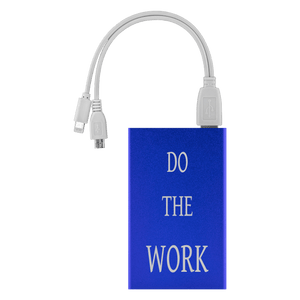Do The Work Power Bank Power Banks Royal Blue