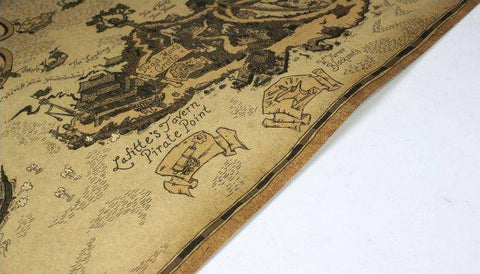Image of Pirate Lair Map Map