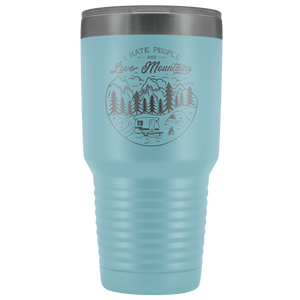 Love the Mountains | 30oz Tumbler Tumblers Light Blue
