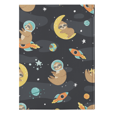 Space Sloth Journal | Hard Cover