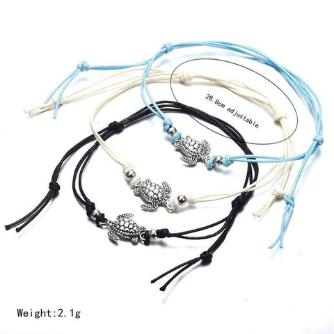 Image of Turtle Shaped Anklet Anklets