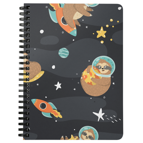 Space Sloth Journal | Spiral