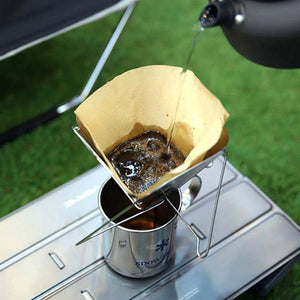 Flat Pack Pour Over Coffee Brewer Coffee Filters