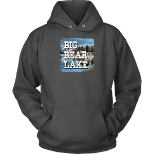 Big Bear Lake V.1 Hoodies and Long Sleeve T-shirt Unisex Hoodie Charcoal S