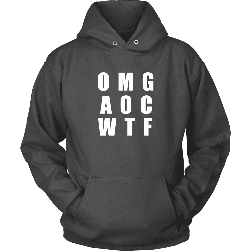 Well There you have it... T-shirt Unisex Hoodie Charcoal S