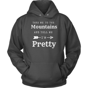 To The Mountains Womens Shirts T-shirt Unisex Hoodie Charcoal S
