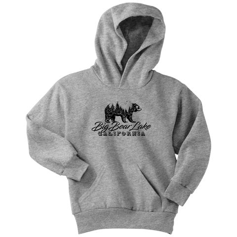 Image of Big Bear Lake California V.2, Hoodies and Long Sleeve T-shirt Youth Hoodie Athletic Heather XS