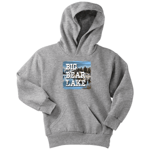 Big Bear Lake V.1 Hoodies and Long Sleeve T-shirt Youth Hoodie Athletic Heather XS