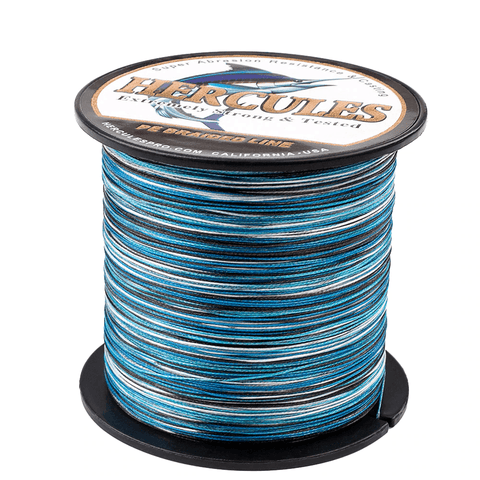 Image of Camo 8 Stranded Braided PE Fishing Line | Super Strong Fishing Lines