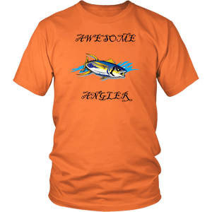 You're An Awesome Angler | V.3 Pirate T-shirt District Unisex Shirt Orange S