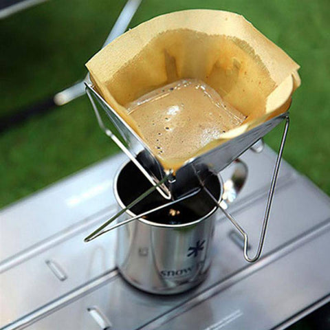 Flat Pack Pour Over Coffee Brewer