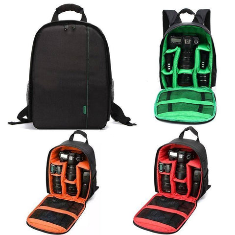 Image of Waterproof Digital DSLR Camera Bag Camera/Video Bags