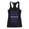 Don't Worry!, Philippians 4:6 T-shirt Next Level Racerback Tank Black XS