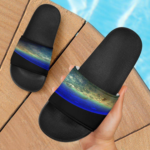 Image of Jupiter Split Slide Sandals Slides
