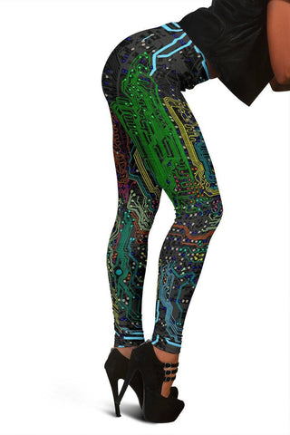 Amazing Circuit Board V.2 Leggings
