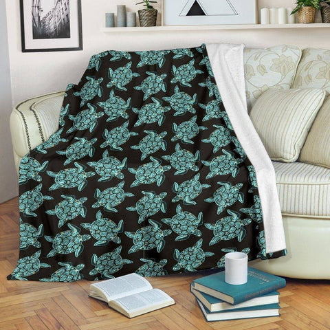 Image of Gorgeous Turtle Blanket V.2