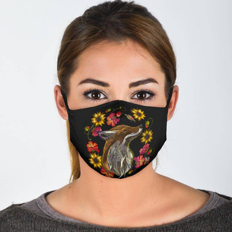 Image of Fox Face Mask Face Mask