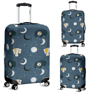 Sleeping Space Sloth Luggage Covers luggage covers