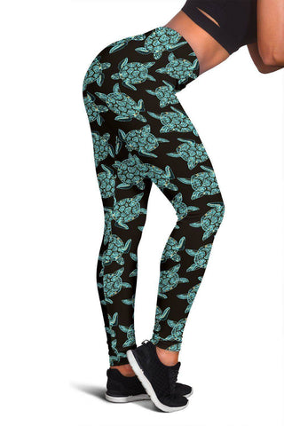 Image of Premium Sea Turtle Leggings V.2