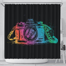Camera Shower Curtain, V.1
