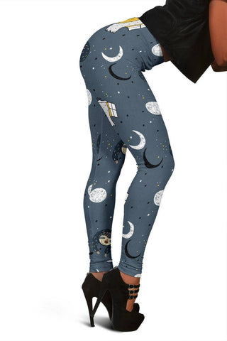 Sleeping Space Sloth Leggings