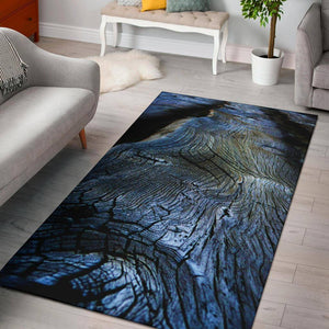 """Weathered Wood"" Striking Area Rug Rugs"