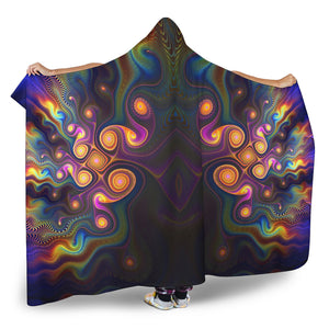Fractal Hooded Blanket V.4