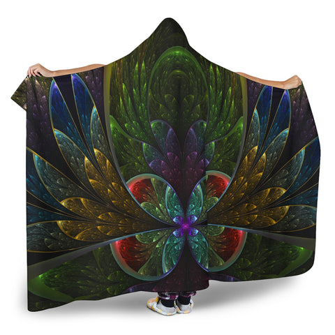 Fractal Hooded Blanket V.3