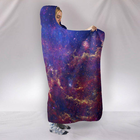 Image of Amazing Galaxy Hoodie Blanket Hooded Blanket