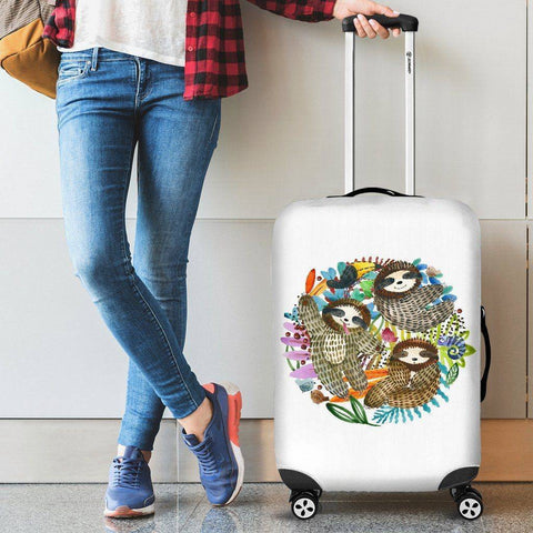 Image of Sloth Trio Luggage Cover
