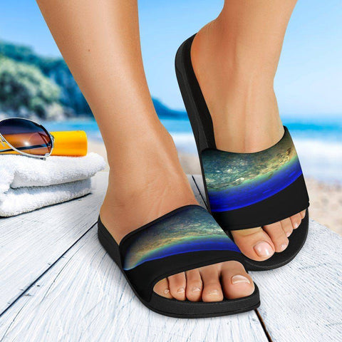Jupiter Split Slide Sandals Slides
