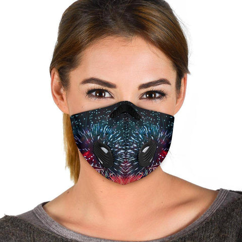 Image of Premium Fireworks Face Mask