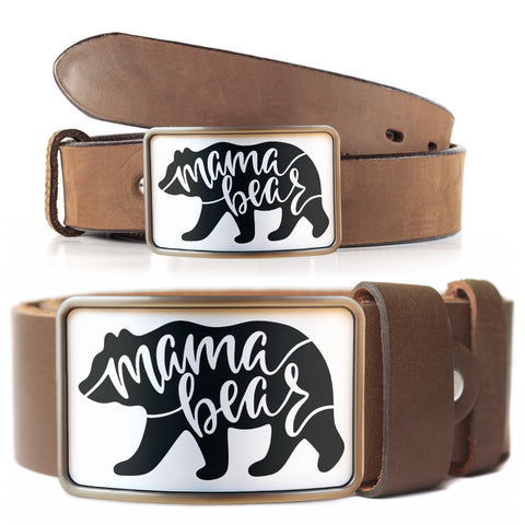 Mama Bear Belt Buckle