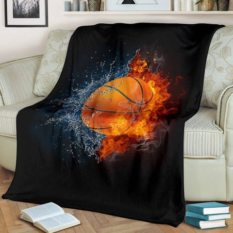 Elemental Basketball Blanket