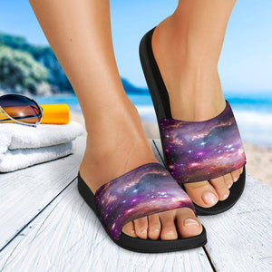 Endless Space Galaxy Slide Sandals Slides