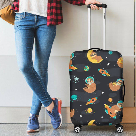 Space Sloth Luggage Cover luggage covers