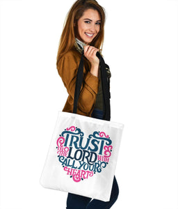 Trust In The Lord, Canvas Tote Bags Tote Bag
